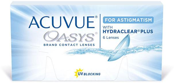 Kuva tuotteesta Acuvue Oasys for Astigmatism
