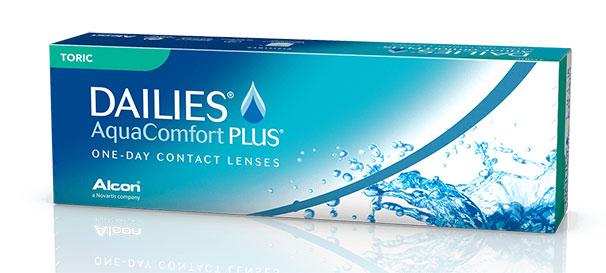 Kuva tuotteesta DAILIES AquaComfort Plus Toric