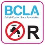 BCLA:n ei vettä -tarra