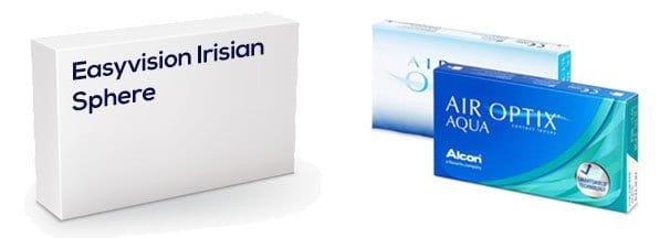 Easyvision Irisian vastaava tuote