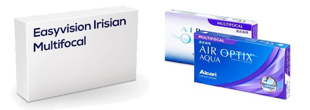 Easyvision Irisian Multifocal vastaava tuote