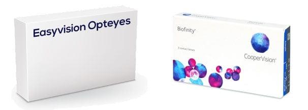 Easyvision Opteyes vastaava tuote
