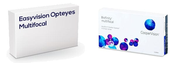 Easyvision Opteyes Multifocal vastaava tuote