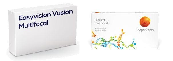 Easyvision Vusion Multifocal vastaava tuote