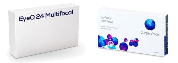 EyeQ 24 Multifocal vastaava tuote