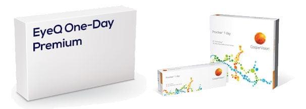 EyeQ One-Day Premium vastaava tuote