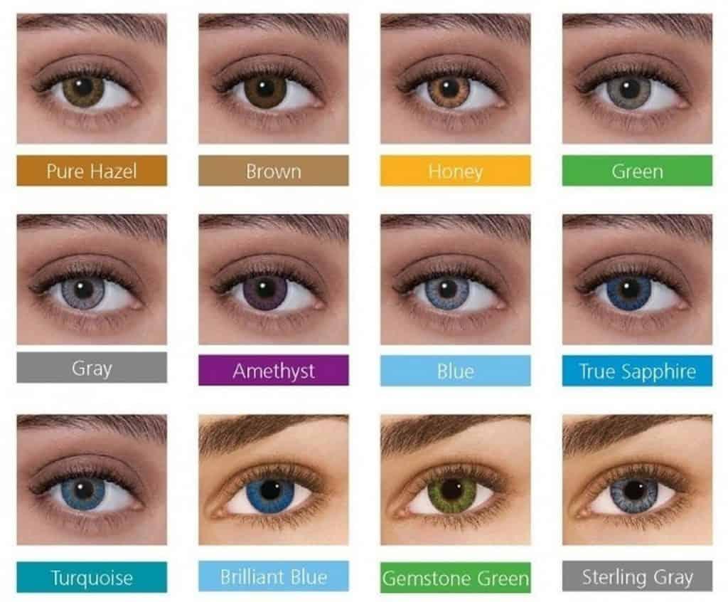 Freshlook Colorblends värit