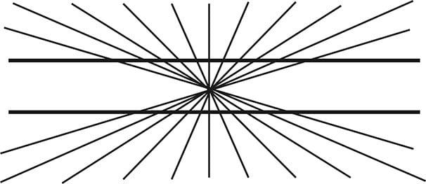 Heringin harha. Kuva: Wikimedia Commons