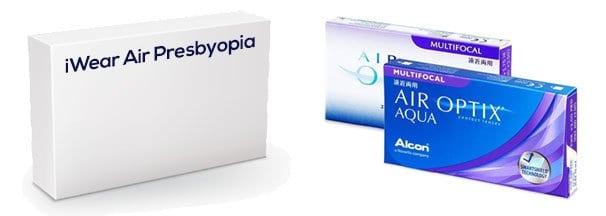 iWear Air Presbyopia vastaava tuote