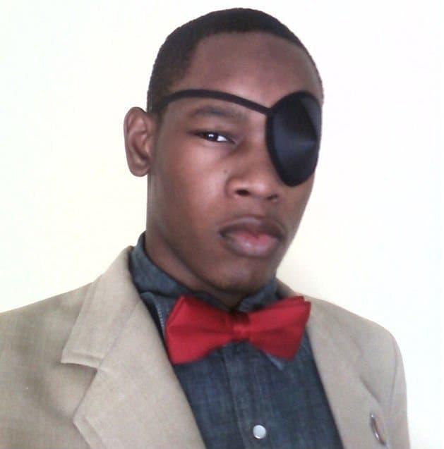Julian Hamlin silmälappu