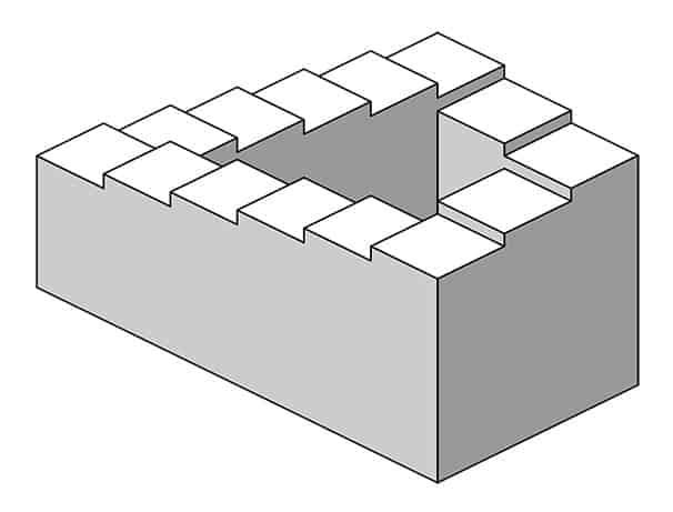 Penrosen portaat. Kuva: Wikimedia Commons