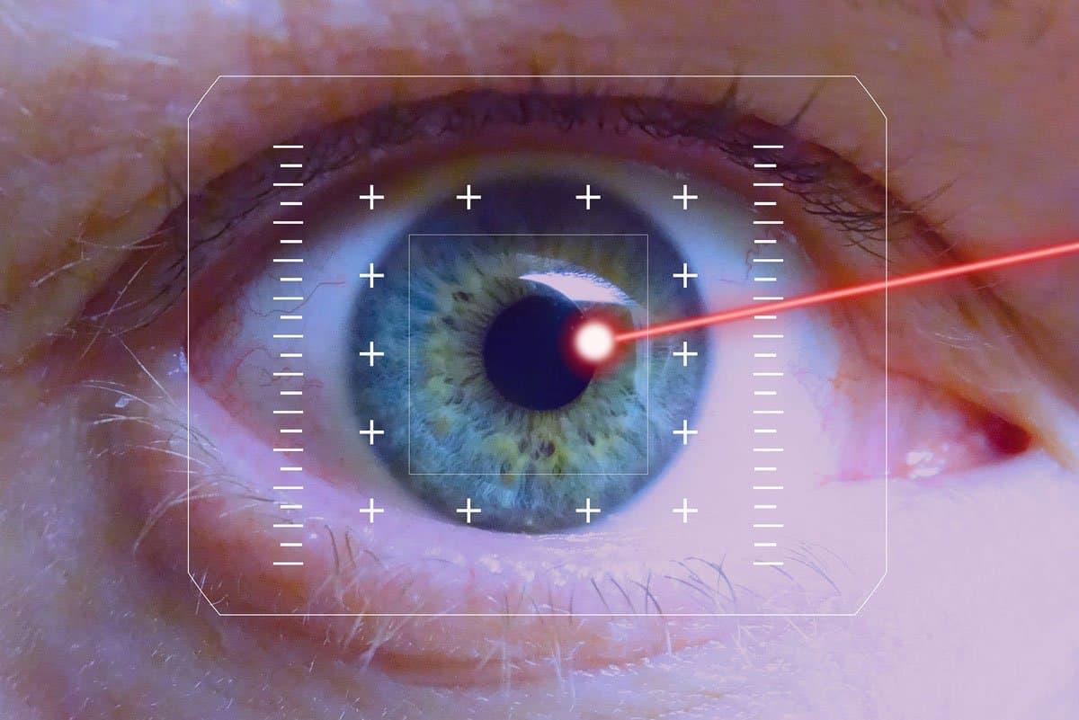 Silmien laserleikkaus