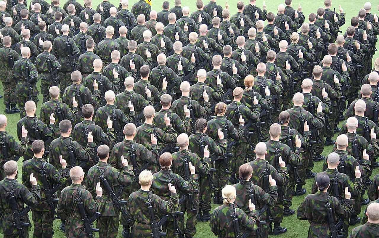 Sotilasvala armeijassa