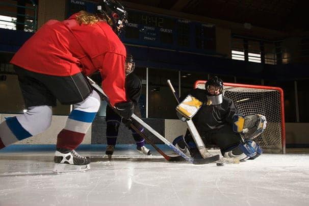 Urheilu naisten jääkiekko